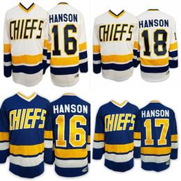 2019 patrick sharp jersey 2019 New Home Hockey Jerseys azul e branco ao ar livre Vestuário HANSON Esportes Jerseys veste Top Shirts Em armazém