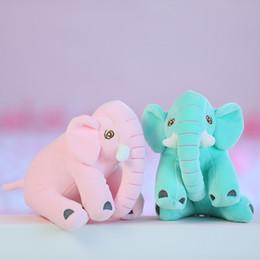 2019 boneca de bebês bonitos Bebê Elefante De Pelúcia Bonecas Bonitos Brinquedos De Pelúcia Conforto Brinquedo Crianças Presentes Grab Boneca Colorido Pequenos Elefantes Adorkable 7 2be O1 boneca de bebês bonitos barato