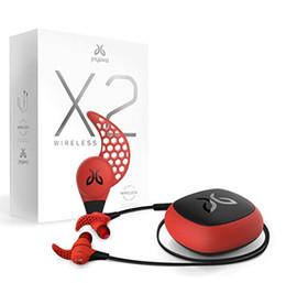Наушники для mp4 онлайн-Jaybird X2 In-Ear Спортивные беспроводные наушники Bluetooth Потостойкая музыка Handsfree Professional с микрофоном Глубокий бас Hifi Наушники