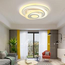 luz home conduzida superfície conduzida moderna de Downlight do acrílico da luz de teto para a sala da cama da sala de visitas de Fornecedores de anel de teto de aço inoxidável