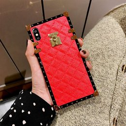 2019 pele de borracha pesada Luxo pu leather slot para cartão de telefone flip case para iphone xr xs max x 8 7 plus 6 cinto de negócios titular stand case capa