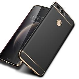 Onur 8X 8C 10 9 8 Lite 7X View10 Darbeye Sert PC Kapak Için Huawei Mate 20 Pro 10 Lite P20 Pro P10 P8 Nova 3 3i Durumda cheap huawei honor hard covers nereden huawei sert kapakları onurlandır tedarikçiler