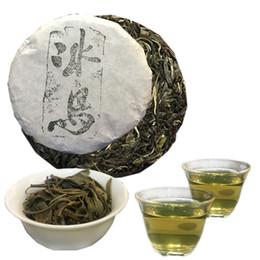 Bolos de chá verde on-line-100g Yunnan clássico Islândia Pu er Tea Raw Pu Er chá Pu'er Organic mais velho Árvore Verde Puer Natural Puerh Tea Cake Factory Vendas Diretas