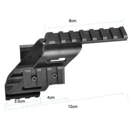 Pistola táctica universal Sight Scope Laser Light Mount con Quad 7/8