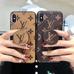 2019 búho casos para ipad Luxury Designer iPhone caso del iPhone para el 11 Pro XR XS Max X 7 8 Plus iPhone11 casos con sostenedor del soporte de agarre del teléfono