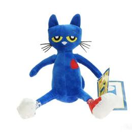Fabricants de poupées en Ligne-Enfants Jouets Pete Le Chat En Peluche Jouets Bleu Merry Makers Poupées En Peluche Cadeau Pour Enfants Meilleurs Vendeurs