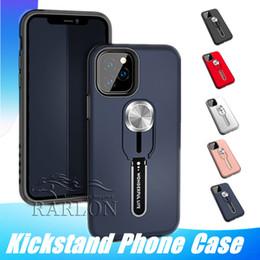 Rüstung Kickstand magnetischer Fall für iPhone 11 Pro max Xs Max Xr X 8 7 6S Plus-Samsung S10 Anmerkung 10 plus von Fabrikanten