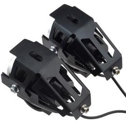 led-scheinwerfer für autos Rabatt 2019 10W Motorrad-Scheinwerfer Hilfslampe hell U5 LED-Chip Motobike Scheinwerfer Zubehör Auto Arbeit Nebelscheinwerfer
