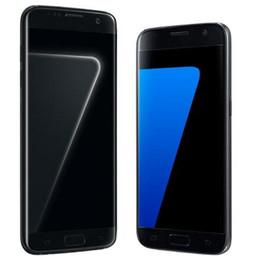 samsung разблокированные телефоны gsm Скидка Отремонтированный оригинальный разблокирован samsung galaxy S7 edge LTE GSM Android мобильный телефон Окта ядро 5.1