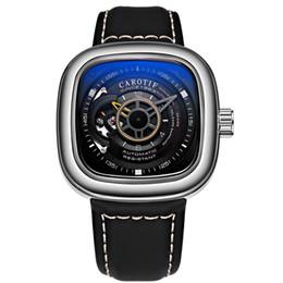 Canada AAA Marque De Luxe Montres Unique Carré Cadran Automatique Montres Mécaniques Montres Reloj Hombre Montre Homme Offre