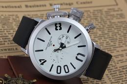vinil sexy Desconto Moda Preto Caso Mens relógio Esportes Grande Barco Prata Preta Rodada Clássico Automático Mecânica Mão Esquerda U designer relógios de pulso