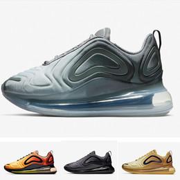 air noir de carbone Promotion Vente en gros 720 KPU OG chaussures hommes Designer Carbon Grey Metallic Silver Neon Coucher du soleil Triple noir hommes formateurs 720s 72C TPU tn chaussures de plein air