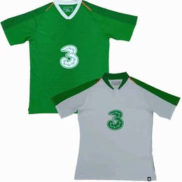 Equipos deportivos camisetas de fútbol online-2019 2020 Irlanda Camisetas de fútbol local visitante equipo nacional 19 20 Camiseta deportiva de fútbol S-2XL