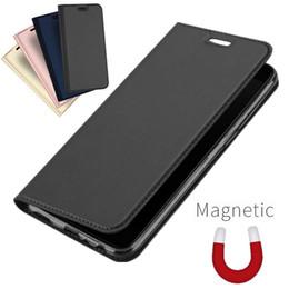 Maleta oneplus on-line-Estojo de couro de luxo para oneplus 7 t 7 pro flip à prova de choque carteira tampa do telefone em um mais 6 6 t 5 t fino magnético capa case
