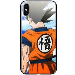 2019 drache iphone fälle Dragon Ball iphone Fall Glasabdeckung für Samsung S8 s9 Fall iPhone 6s 7plus 8 plus X XSMax günstig drache iphone fälle
