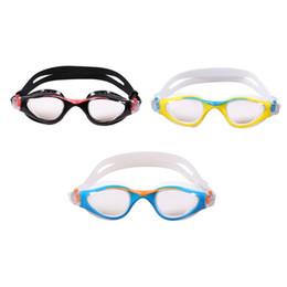 fasce per bambini regolabili Sconti Occhialini da nuoto per bambini Impermeabili Anti-Fog Resistenti ai raggi UV Occhiali da nuoto Elastico regolabile Fascia per occhiali Pad morbido in silicone