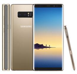 64gb samsung Desconto Original samsung galaxy note 8 6.3 polegada Octa Núcleo 6 GB de RAM 64 GB ROM Dupla de Volta Câmera 12MP 3300 mAh Desbloqueado Inteligente telefone recondicionado