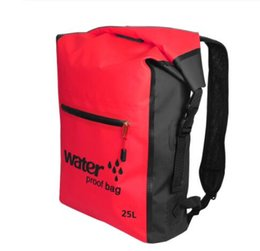 15L Sac De Compression Etanche Léger Pr Navigation Sports Canoë Rouge