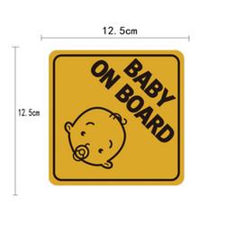involucro d'aria da 3 metri Sconti Autoadesivo riflettente magnetico dell'automobile di Sunscreen impermeabile Bambino a bordo Conveniente alta qualità senza residuo essere notato facilmente
