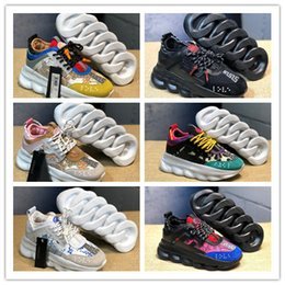 promo code 4b223 cd42e 2019 Italy Luxury Designer Sneaker MIX TESSUTI+VITELLO Thick Bottom Low-Top  Casual Shoes Fashion Women Mens Retro Dad Chaussures SIZE 36-45 low top  tennis ...