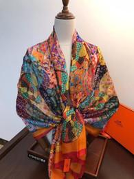 Canada Nouvelle marque foulard châle style ethnique foulard en polyester femme été bord de mer voyage super grand écran solaire plage foulard scarface cheap ethnic floral scarves Offre
