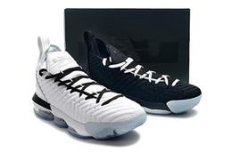 Canada 2019 nouvelles chaussures de basket-ball 16 Equality Home pour hommes Blancs et noirs 16s Equality Away Martin Luther King Jr. Journée hommes formateurs sports athlétiques sneake Offre