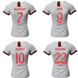 46f1d863f England 2019 womens world cup home soccer jerseys white National Teams  football shirts woman soccer uniforms discount england world cup jerseys