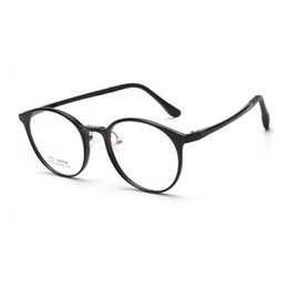 8b94fa3682 width-134 Ultra light retro plastic steel small face men women circular  myopia goggles optical eyeglasses eyewear frames female