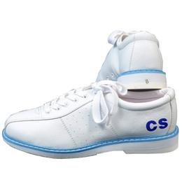 Ботинки для ботинок онлайн-Белые туфли для боулинга для мужчин Спортивные унисекс для начинающих Боулинг Женская обувь Модные кроссовки Zapatos Boliche Спортивные товары Развлечение