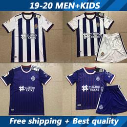 camiseta de santa cruz Desconto 19 20 jerseys e crianças de futebol Real Valladolid kit 2019 2020 Real Valladolid camisa de futebol casa longe camisa de Futebol uniformes de manga curta
