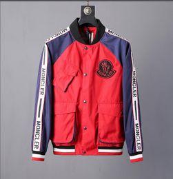 Cappotto di serpente online-2020 Italia autunno serpente ape tigre stampa giacche uomo nuovo giacca a vento uomini uomini strada alta giacca sportiva.