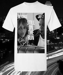 2019 corrida livre camisetas Beyonce E Jay Z Graphic T-shirt Ainda Em Execução Tour Hip Hop Grammy ROCFunny frete grátis Unisex Casual Tshirt desconto corrida livre camisetas