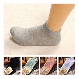 Niedliche stiefeletten online-1 Paar Winter-Frauensocken, beiläufige nette Baumwollsocke, Süßigkeit-Farben-Art- und Weiseknöchel-Boots-niedrige Schnitt-kurze Socken Reine Farbeneinfachheit
