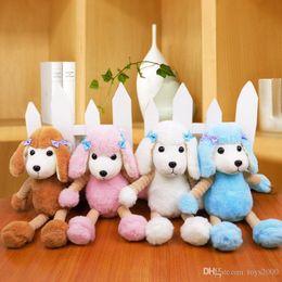 2020 perro de peluche caniche de juguete Nueva linda simulación Poodle doll plush toy Peluches PP Plush dog doll Regalo para niños al por mayor 11 rebajas perro de peluche caniche de juguete