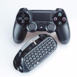 Mini bluetooth del controller di gioco online-Tastiera wireless per controller di gioco Mini Bluetooth PS4 Tastiera per tastiera portatile in lega leggera in alluminio ultra sottile