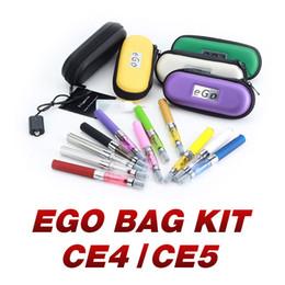 2019 ego starter kit tasche EGO CE4 CE5 Vape Pen Starter Reisetasche Kit CE4 / CE5 Zerstäuber eGo-T 510 Gewindebatterien 650 900 1100 mAh Vapes günstig ego starter kit tasche