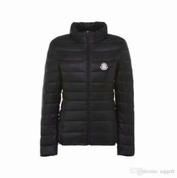 Donne invernali rivestite in parka online-Nuove donne plus size manica lunga caldo leggero imbottito giacca invernale da donna parka per giacca invernale da donna
