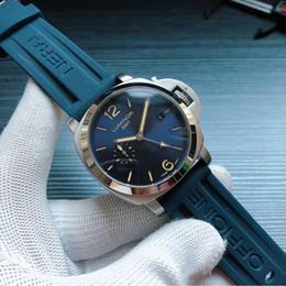 2019 relógio feminino vintage vintage PAM00688 Relógios clássicos GMT com movimento automático 44 milímetros 316 caixa de aço pulseira de couro