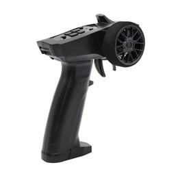 Receptor teledirigido del coche del rc online-2.4GHz inalámbrico RC receptor de coche Radio Digital 3CH transmisor de barco de control remoto