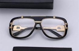 Deutschland Wholesale new fashion designer optical glasses 661 plate frame top quality clear lens simple style transparent eyewear cheap eyewear frames plating Versorgung