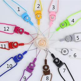 nylonhalter Rabatt Universal Lanyards Neck Lanyard Lange Riemen Nylon Hänge Seil für MP3 Mp4 ID Halter Handy Handy Lanyard Hänge Seil
