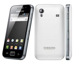 2019 разблокированные галактики сотовых телефонов Оригинал разблокирован Samsung Galaxy ACE S5830 S5830i сотовый телефон 3G Wifi GPS 5-мегапиксельная камера мобильный телефон Бесплатная доставка дешево разблокированные галактики сотовых телефонов