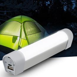Luzes led tubo de emergência on-line-20LED recarregável luzes led tubo LED luz de emergência lanterna casa acampamento ao ar livre lâmpada solar