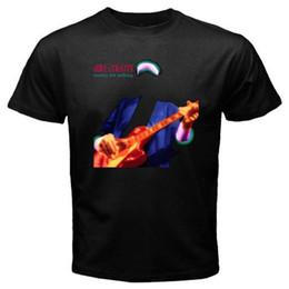Maglietta calda degli uomini neri online-New Dire Straits * T-Shirt nera Money For Nothing Legend Leggenda T-shirt taglia S-3XL Taglie forti