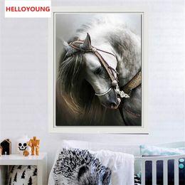 Promoción de bricolaje 5D diamante bordado caballo diamante redondo Pintura de punto de cruz kits de mosaico Pintura decoración del hogar desde fabricantes
