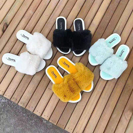 Hausbekleidung hausschuhe online-Familie Passende Schuhe Solide Flachen Boden Pantoffel Mädchen Designer Hausschuhe Heimtextilien Externe Tragen Mutter Tochter Hausschuhe 07