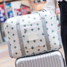 Argentina No se pierda la bolsa de viaje plegable Cubos portátiles de gran capacidad Ropa Maleta Bolsas Impermeable Hombres Bolsa organizadora de equipaje supplier pack clothes travel Suministro