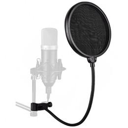 Профессиональный зажим на микрофон фильтр двухслойной записи спрей гвардии двойной экран сетки ветровое стекло от