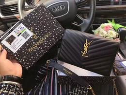 YSL Kadınlar Çanta Çanta YOK BOX 6508 için Tasarımcı çanta Moda Kadınlar Çanta Deri Çanta Omuz Çantası Crossbody Çanta nereden