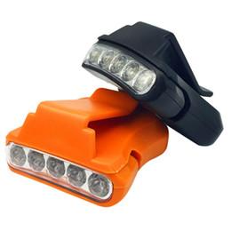 Lampada di protezione da caccia online-Impermeabile 5 Led Lampade Faro Torcia per bicicletta Torcia Torcia Cap Hat Head Light Lampada 2000 Lumen per Caccia Pesca all'aperto